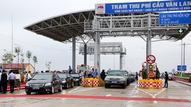Cầu Văn Lang nối Hà Nội với Phú Thọ sẽ bắt đầu thu phí từ tháng 12/2018
