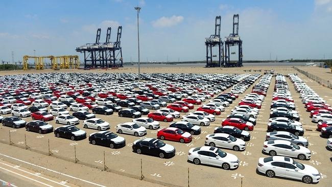 Đã thông quan hơn 1.000 xe ô tô Honda miễn thuế nhập khẩu