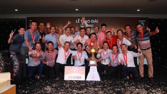 Câu lạc bộ Golf G&L 9295 vô địch giải GFS Cup