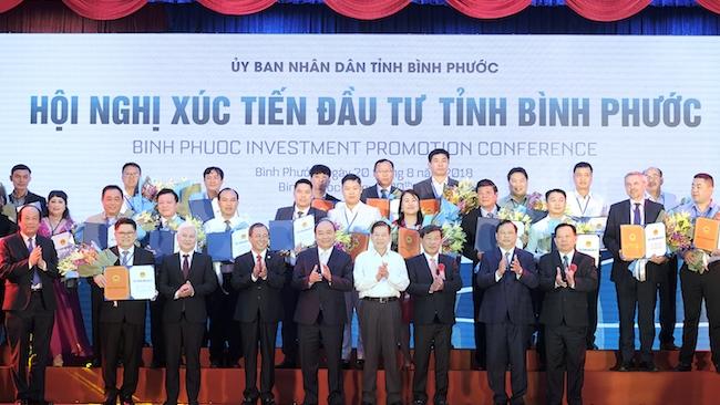 Lễ trao giấy chứng nhận đăng ký đầu tư