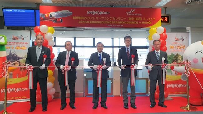 Vietjet Air mở đường bay thứ 3 tới Nhật Bản
