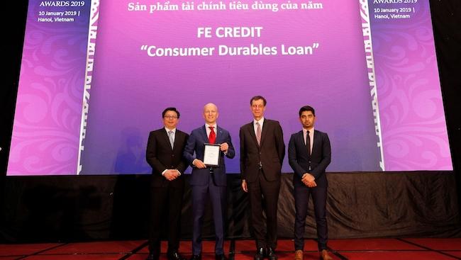 FE Credit được vinh danh có sản phẩm tài chính tiêu dùng xuất sắc nhất