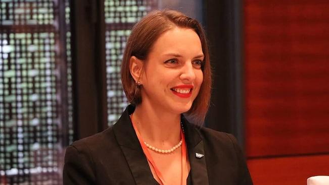 Bà Josephin Galla, Tổng giám đốc SAP Việt Nam
