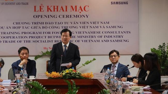 Samsung chọn 60 chuyên gia tư vấn Việt sang Hàn đào tạo