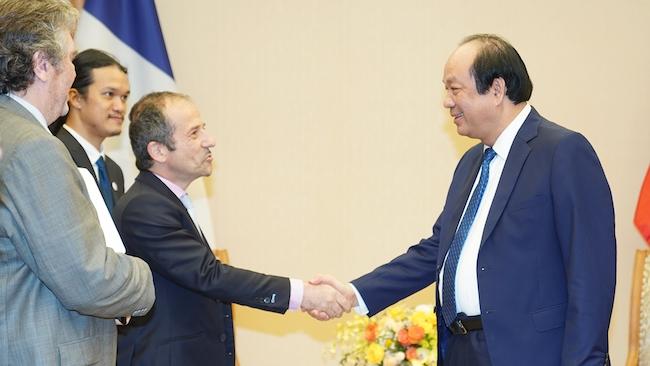 Việt Nam hợp tác với Pháp để phát triển Chính phủ điện tử