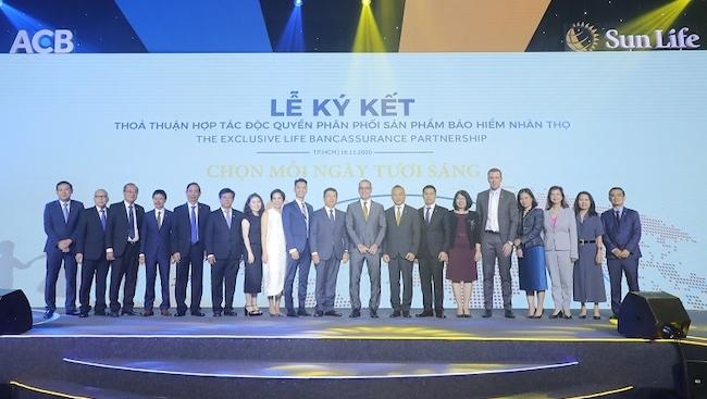 ACB và Sun Life Việt Nam hợp tác phân phối bảo hiểm nhân thọ