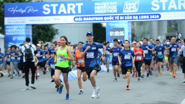 Tổ chức thành công giải marathon quốc tế di sản vịnh Hạ Long 2020