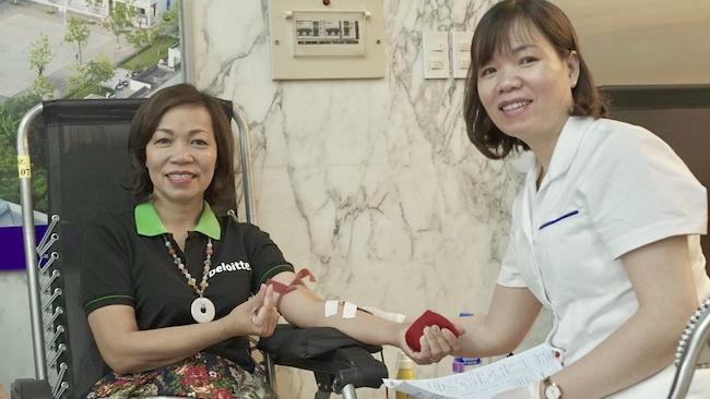 Hiến máu nhân đạo - quản trị giá trị từ hành động nhân ái
