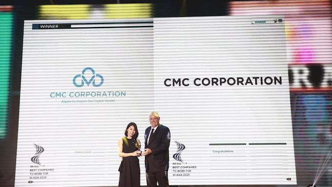 CMC lọt danh sách những công ty có môi trường làm việc tốt nhất châu Á