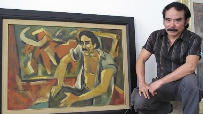 Một đời họa sĩ - chiến sĩ Phạm Lực cháy hết mình vì nghệ thuật