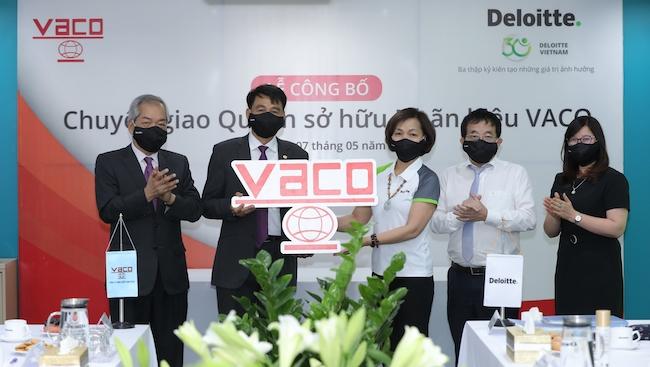 Deloitte chuyển giao quyền sở hữu nhãn hiệu cho VACO