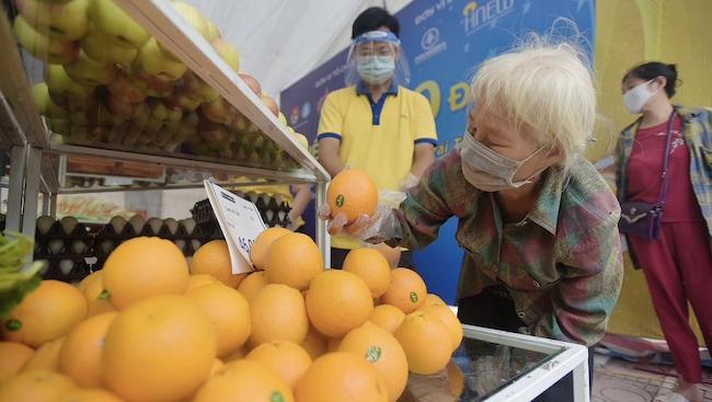 Siêu thị 0 đồng giữa đại dịch ở Hà Nội