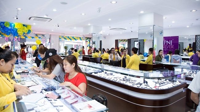 PNJ giành thêm thị phần từ thị trường trang sức không có thương hiệu