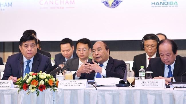 Thủ tướng: 'Môi trường kinh doanh Việt Nam hoàn toàn có thể ươm mầm những doanh nghiệp tầm cỡ'