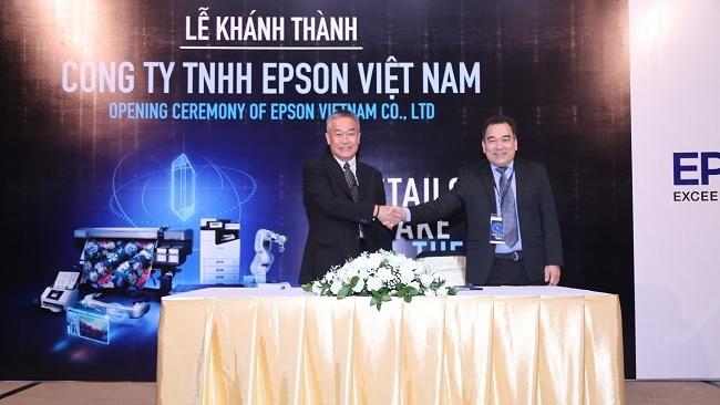 """Epson chính thức """"định cư"""" tại thị trường Việt Nam"""