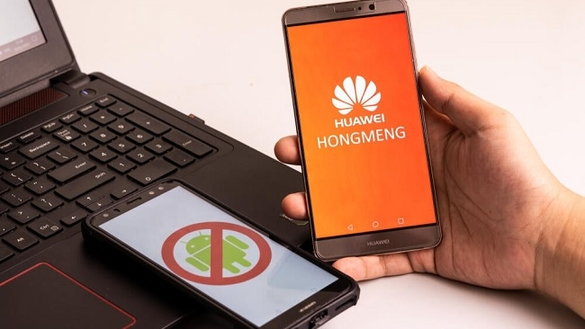 Huawei đăng kí thương hiệu hệ điều hành riêng sau lệnh cấm của Mỹ