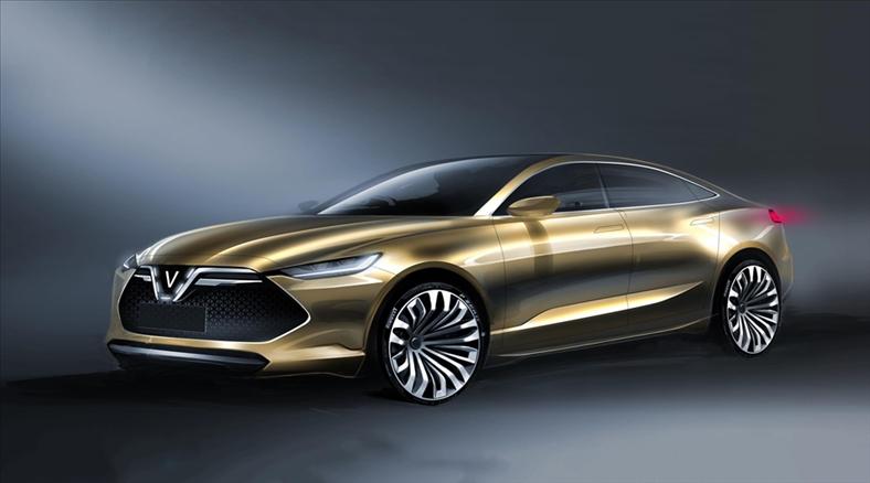 20 mẫu xe ô tô VinFast lộ diện