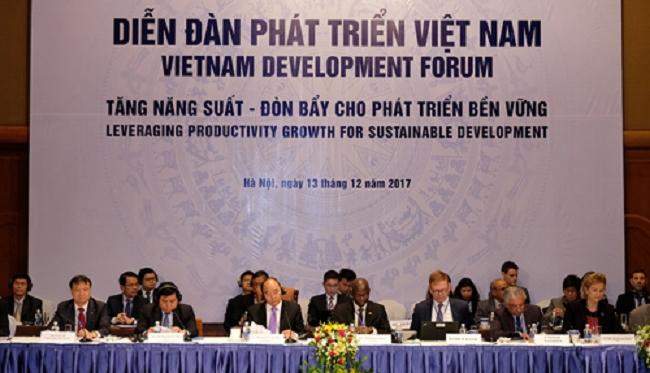 Diễn đàn Phát triển Việt Nam 2017 tập trung vào tăng năng suất