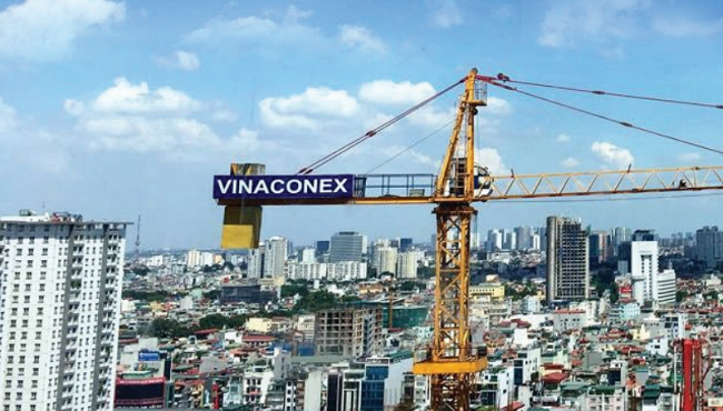 Vinaconex trở thành công ty con của An Quý Hưng