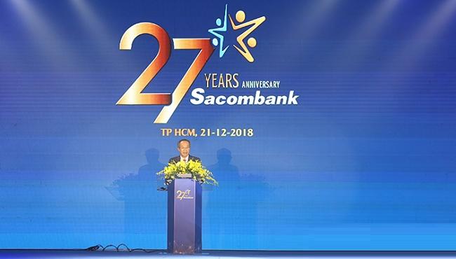 Sacombank vượt kế hoạch lợi nhuận nhờ thu nhập bất thường