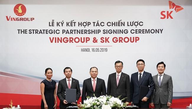 Tập đoàn SK chính thức đầu tư 1 tỷ USD vào Vingroup