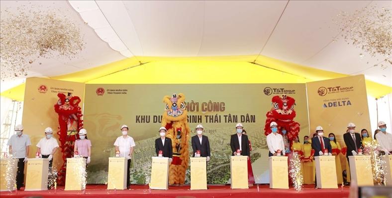 T&T Group khởi công dự án Khu du lịch sinh thái biển tại Thanh Hóa