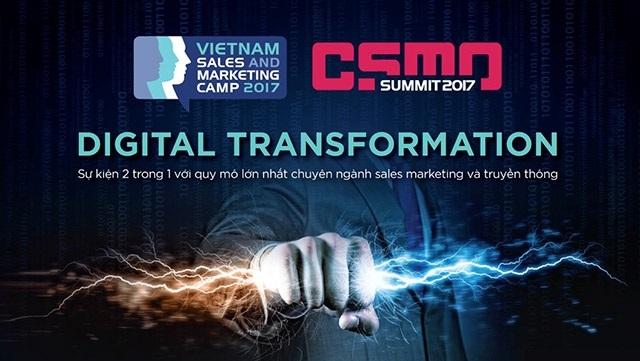 """""""Digital Transformation – Chuyển đổi kỹ thuật số và tác động đến Sales & Marketing hiện đại"""""""