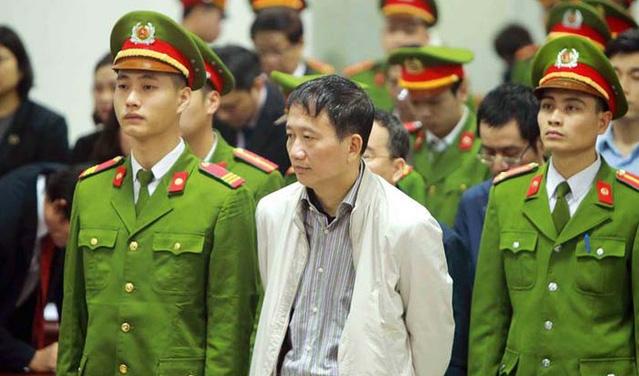 Tuyên án bị cáo Đinh La Thăng, Trịnh Xuân Thanh và đồng phạm