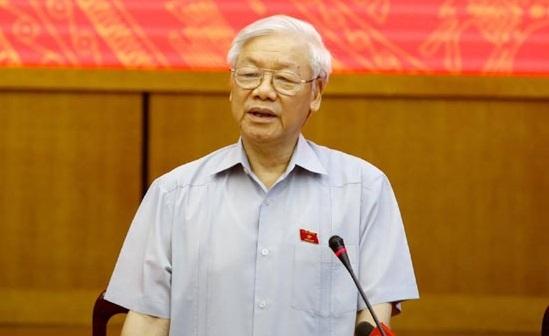 Trung ương giới thiệu Tổng bí thư Nguyễn Phú Trọng để bầu Chủ tịch nước