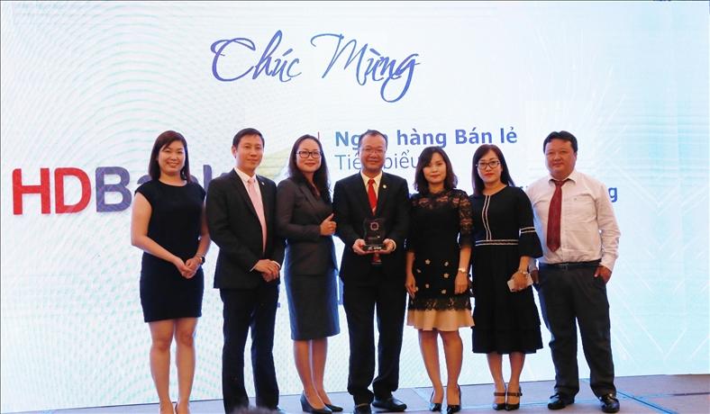 HDBank đạt giải thưởng Ngân hàng Bán lẻ Tiêu biểu năm 2018