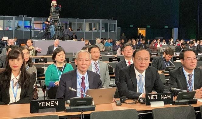 5 nội dung chính nhằm thực hiện Thỏa thuận khí hậu Paris được Đoàn Việt Nam nêu tại COP 24