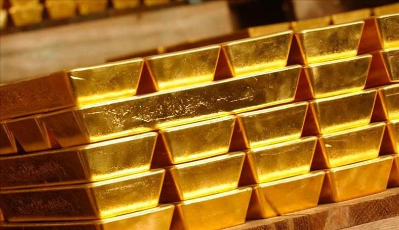 Giá vàng tăng mạnh do chứng khoán bị bán tháo