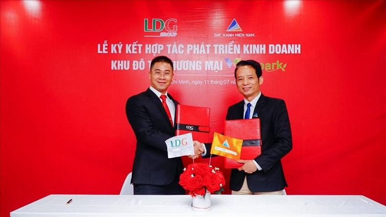 LDG Group và Đất Xanh miền Nam ký kết hợp tác phát triển kinh doanh dự án VIVA Park