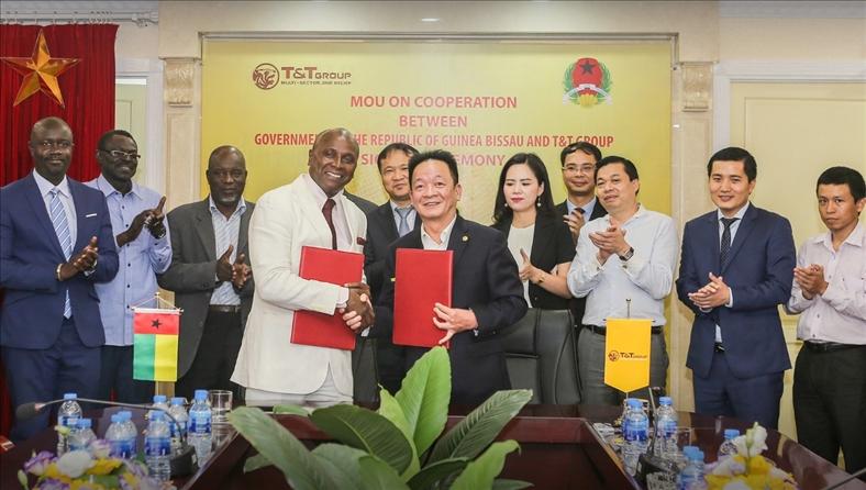 Tập đoàn T&T Group dự kiến thu mua toàn bộ sản lượng hạt điều thô của Guinea Bissau