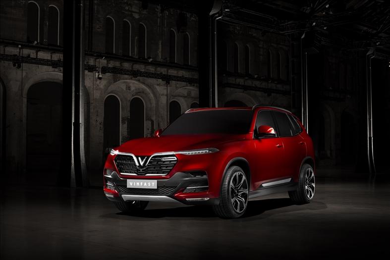 Vẻ đẹp ngoại thất hai mẫu xe VinFast sắp trình làng tại Paris Motor Show