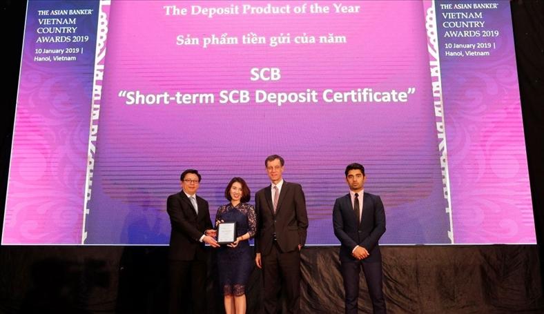 Chứng chỉ tiền gửi SCB liên tiếp nhận được các giải thưởng uy tín