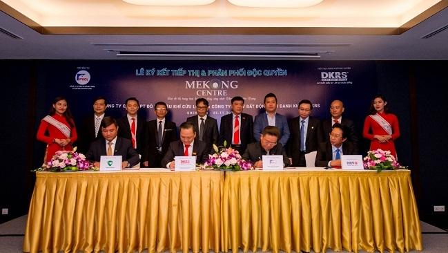 PVCL và DKRS ký kết tiếp thị và phân phối độc quyền Đại đô thị Mekong Centre