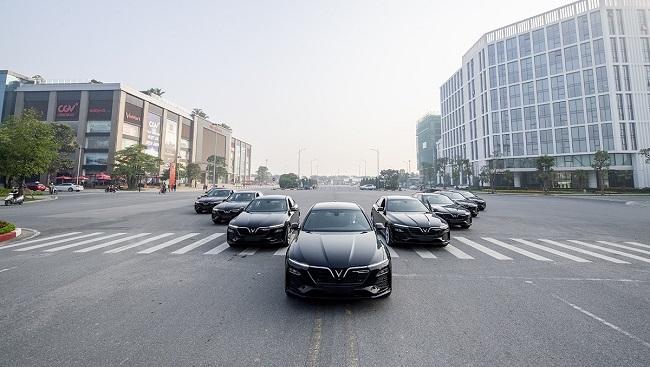 Ô tô VinFast là phương tiện di chuyển chính thức của ASEAN 2020