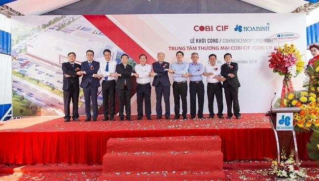 Hòa Bình khởi công trung tâm thương mại COBI CIF trị giá 460 tỷ đồng