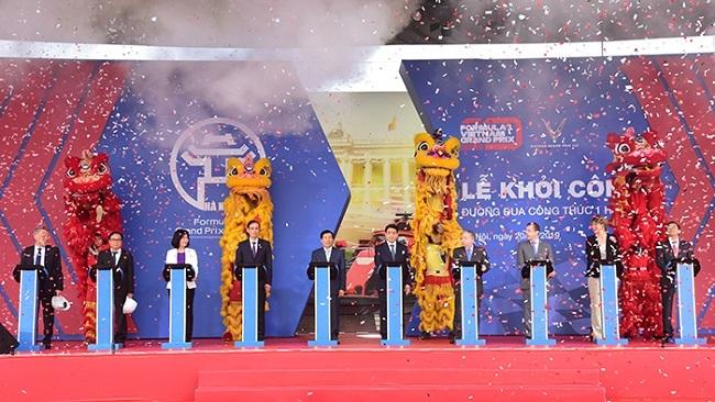 Vingroup khởi công xây dựng Đường đua F1 Hà Nội