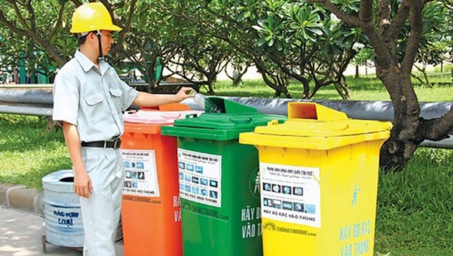 Đà Nẵng chi hơn 220 tỷ đồng cho phân loại chất thải rắn sinh hoạt năm 2019