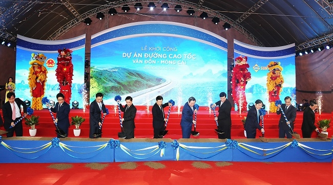 Quảng Ninh khởi công dự án cao tốc Vân Đồn - Móng Cái hơn 11.000 tỷ