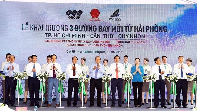 Bamboo Airways khai trương 3 đường bay mới từ Hải Phòng