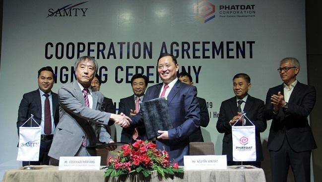 Phát Đạt nhận đầu tư 22,5 triệu USD từ Samty Corporation