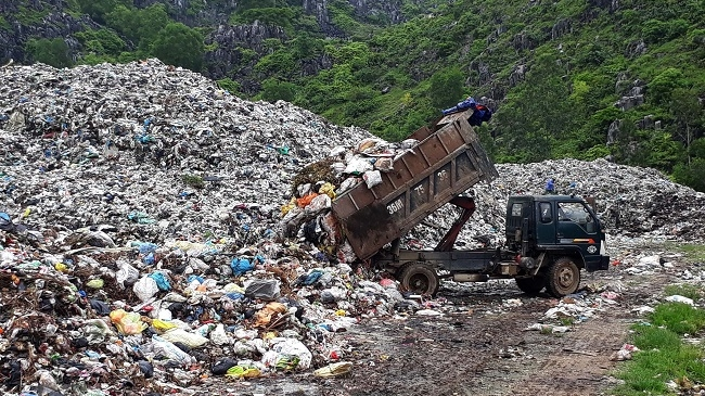 Mục tiêu còn 10% chất thải rắn xử lý bằng chôn lấp vào năm 2030