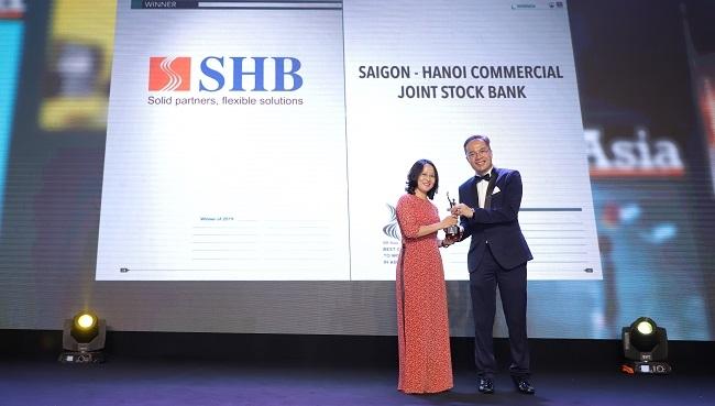 SHB nhận giải thưởng Doanh nghiệp có môi trường làm việc tốt nhất châu Á