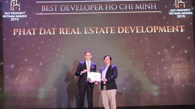 Phát Đạt nhận giải Nhà phát triển dự án tốt nhất TP.HCM 2019
