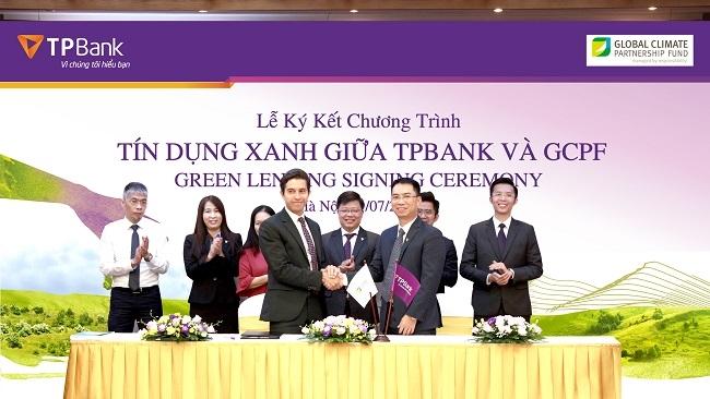 GCPF tài trợ gói tín dụng xanh 20 triệu USD cho TPBank