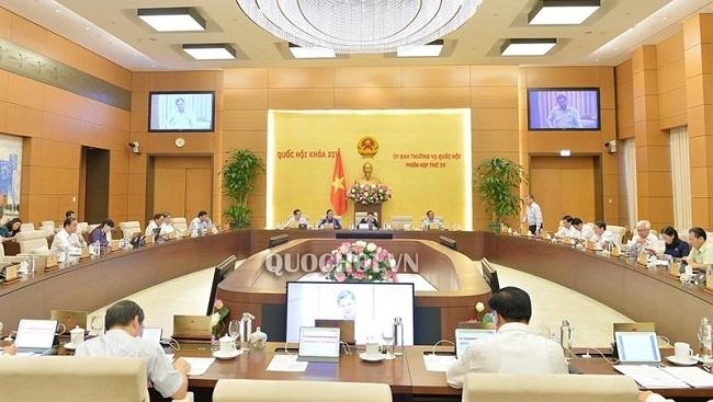 Ủy ban Thường vụ Quốc hội cho ý kiến 13 dự án Luật từ ngày 9/9 - 21/9