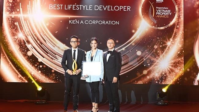 Tập đoàn Kiến Á đoạt giải tại PropertyGuru Vietnam Property Awards 2020